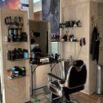 Frisørstol inden Barbering hos Vivi Hairdesign i Slagelse